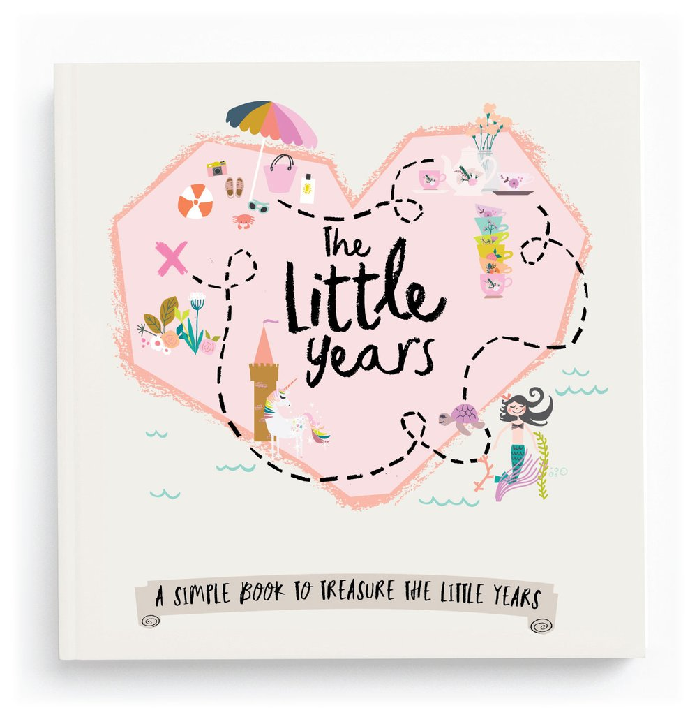 The Little Years Memory Book Scrapbook For Girls