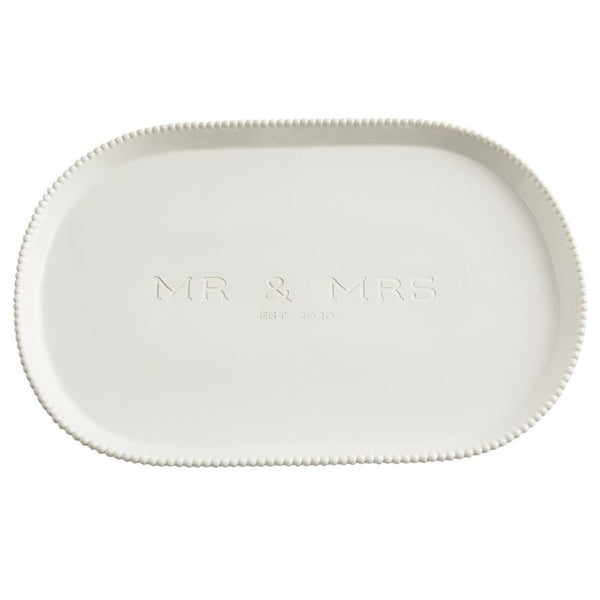 Mr & Mrs Beaded 2020 Platter 40700206