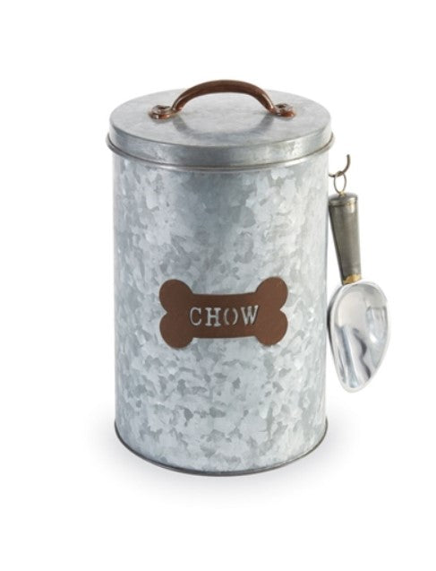 Mud Pie Dog Chow Tin Canister Set 40220015