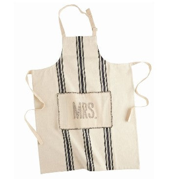 Mud Pie Grainsack Mrs. Apron 4025002