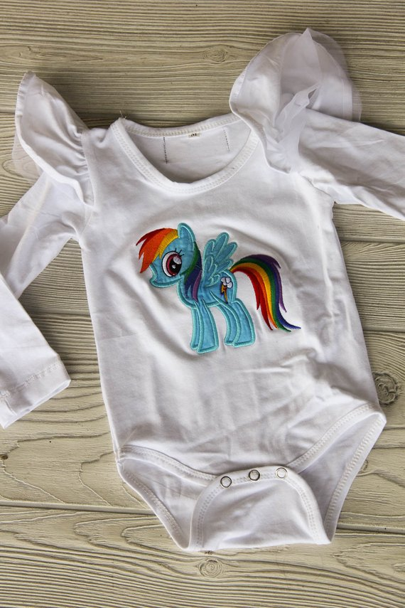 My Little Pony Onesie Darling Custom Designs