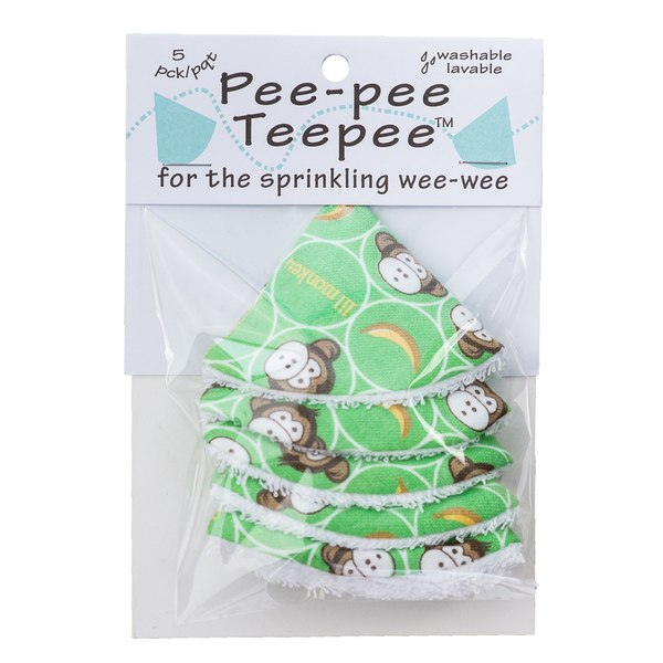 Beba Bean Pee-Pee Teepee Cellophane Bag - Li'l Monkey