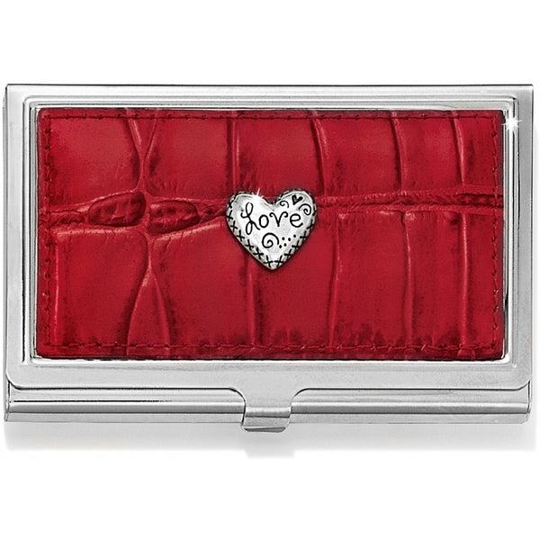 Brighton Collectibles Love Beat Card Case G80097