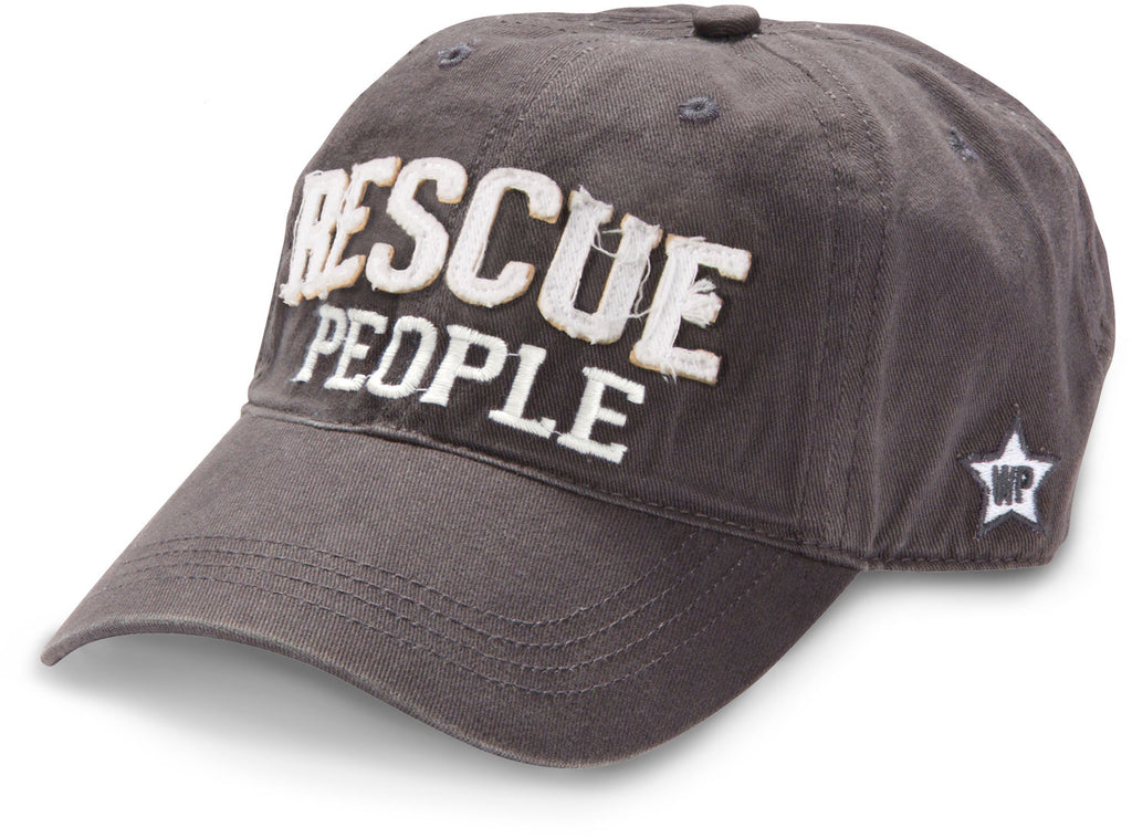 Rescue People - Dark Gray Adjustable Hat