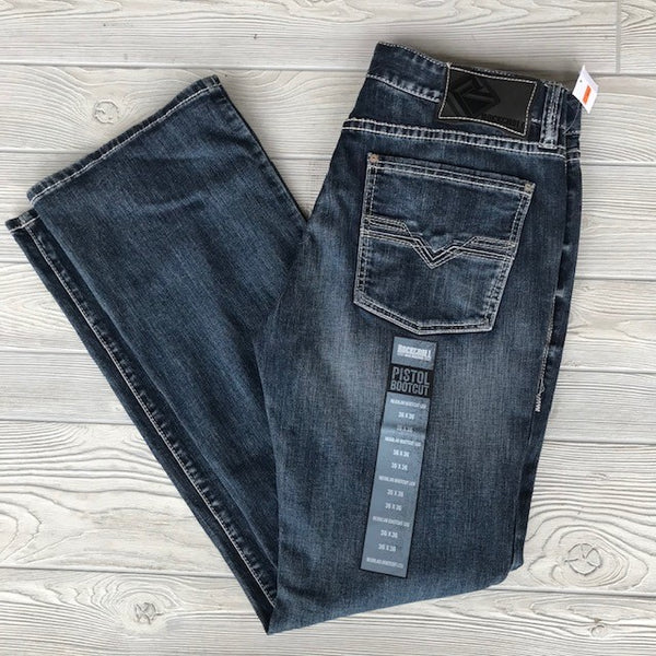 Rock & Roll Men's Denim Reflex Pistol