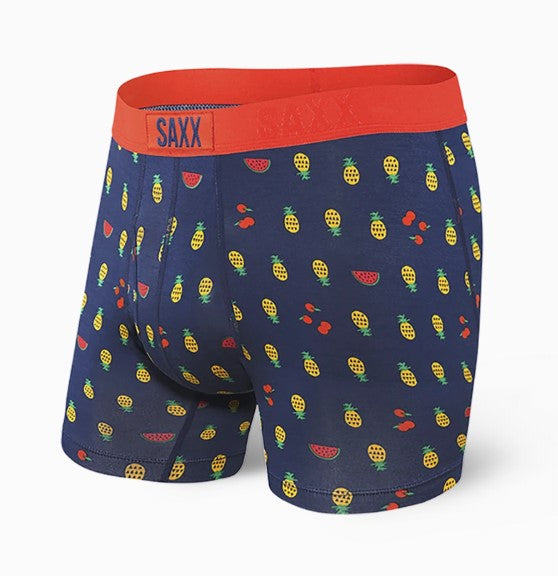 Saxx Underwear Ultra Boxer Fly | Blue Fruit Cocktail SXBB30F-FCB