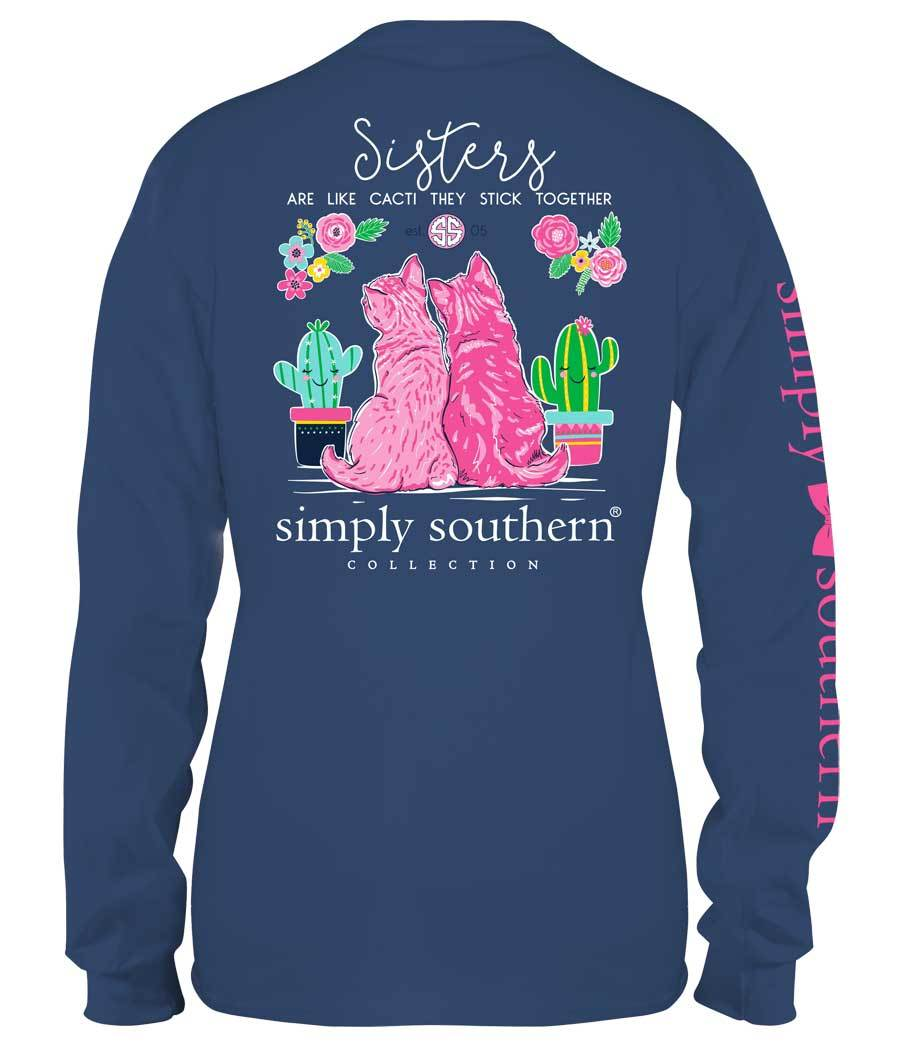 Simply Southern | Sisters Are Like Cacti Tee
