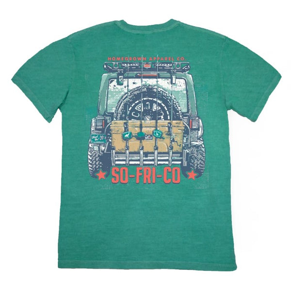 Southern Fried Cotton Fun Day Short Sleeve T-Shirt SFM11415
