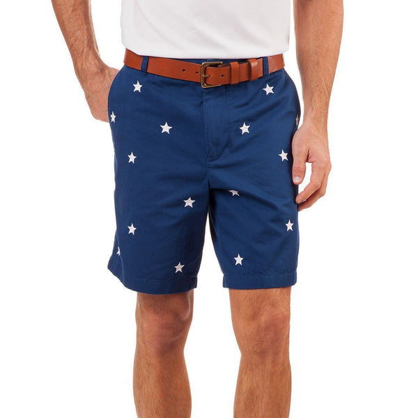 Southern Tide Star Spangled Shorts
