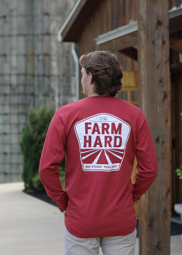 Turnrows Farm Hard Long Sleeve T-Shirt