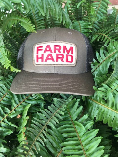"Turnrows ""Farm Hard Patch"" Twill Mesh-Back Adjustable Hat"