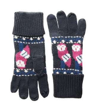 Vera Bradley Cozy Gloves and Knit Hat