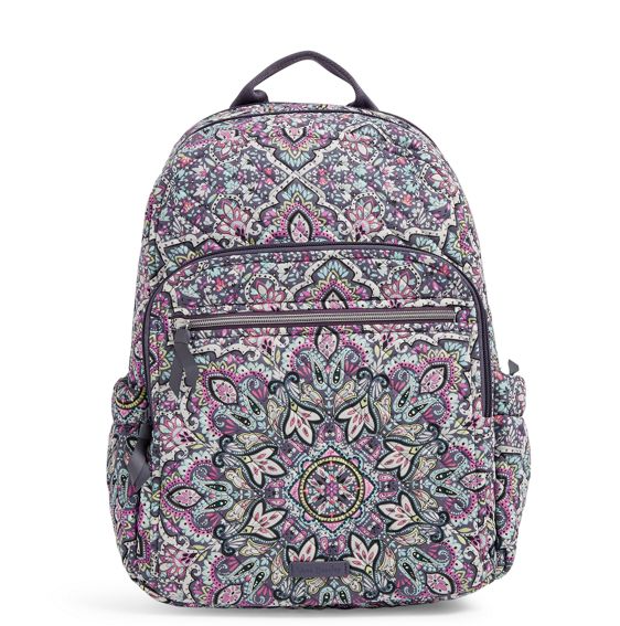Vera Bradley Iconic Campus Backpack In Patterns