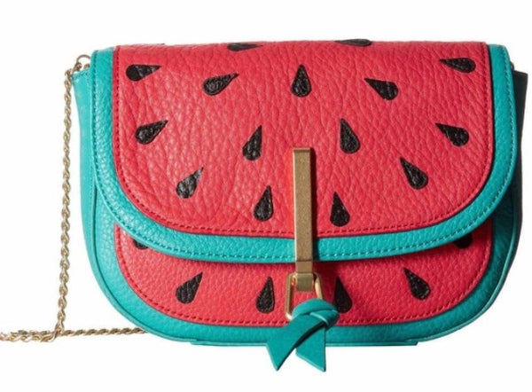 Vera Bradley Carson Mini Saddle Bag Watermelon Slice 22189-667]