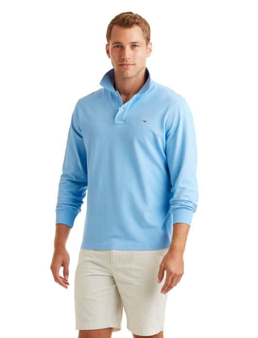 Vineyard Vines Long sleeve Classic Pique Polo