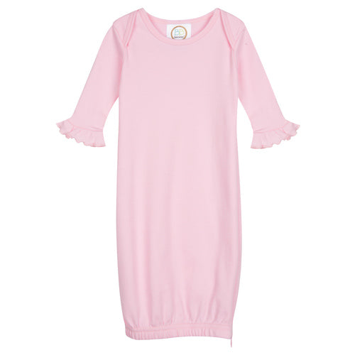 Blanks Boutique Blank Long Sleeve Ruffle Infant Gown