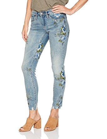 BLANKNYC Embroidered Jeans/Back To Nature