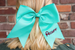 Bow w/ Name Embroidered Darling Custom Designs