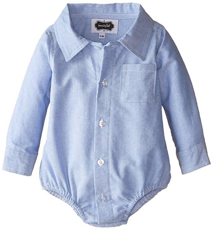 Chambray Crawler by Mud Pie La Boutique