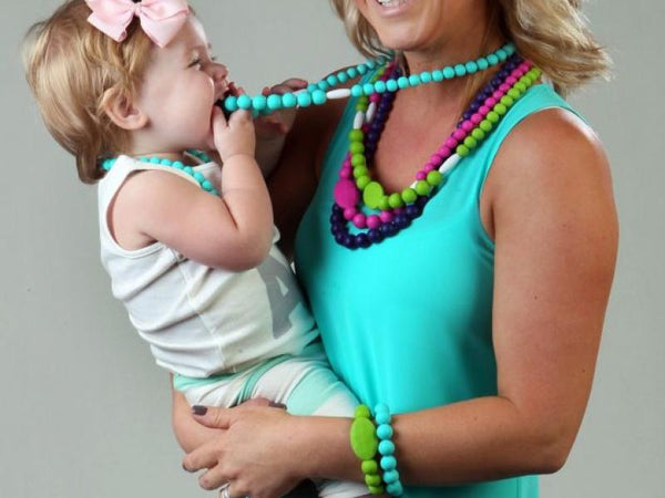 Necklace & Bracelet Teething Set