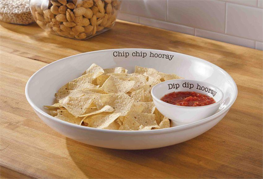 Hooray Chip & Dip Serving Set