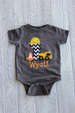 Construction Birthday Onesie