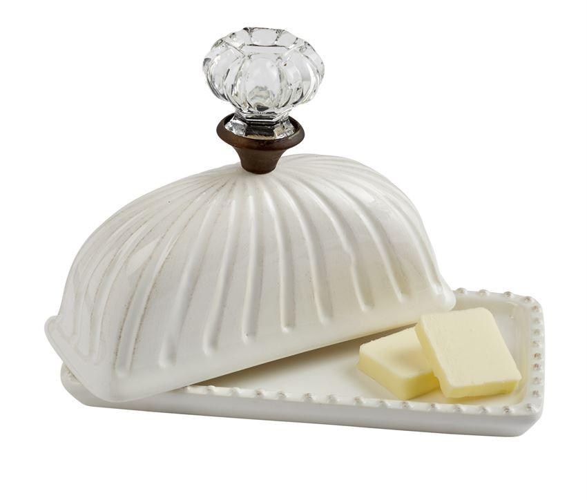Door Knob Butter Dish by Mud Pie 4871010