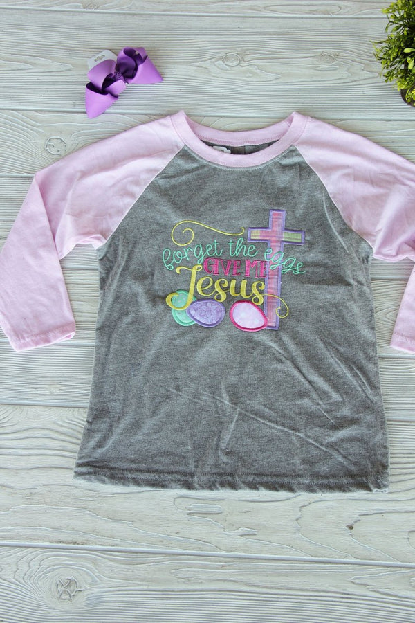 Girl's Youth Easter Raglan