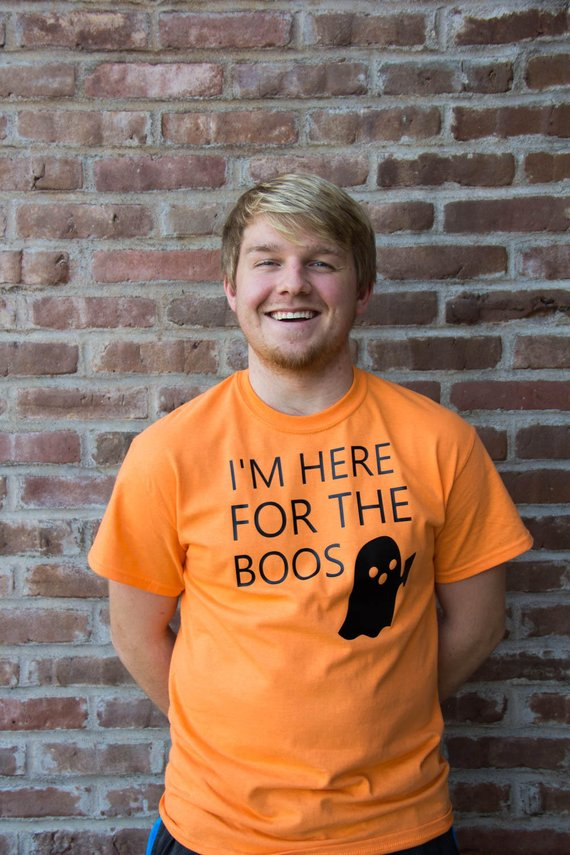 I'm Here for the BOOS | Halloween Unisex Tee