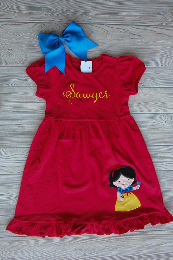 Snow White Disney Princess Dress Darling Custom Designs