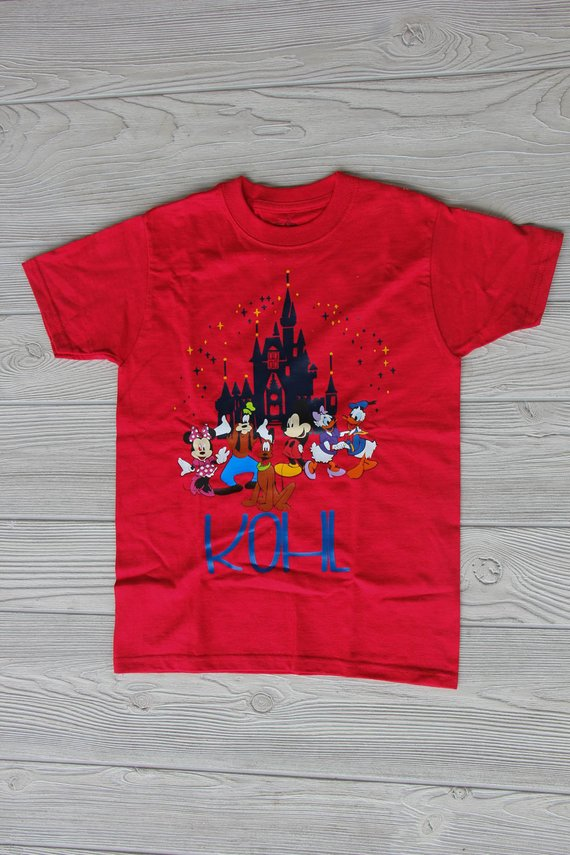 Disney Kid's Shirt Darling custom Designs