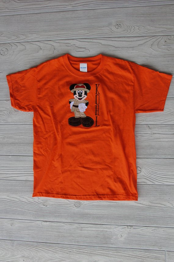 Safari Mickey Mouse Disney Shirt
