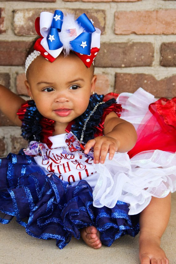 Fourth of July Ribbon Tank | Pageant Outfit
