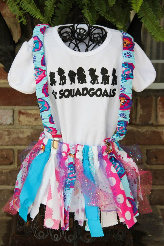 Girl's Paw Patrol Squad Goals | Birthday Outfit