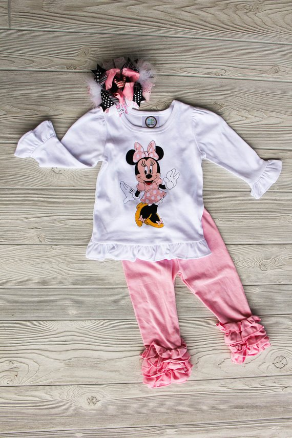Minnie Mouse Inspired Tee
