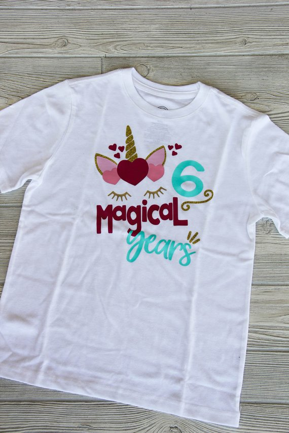 Magical Years Unicorn Birthday Tee