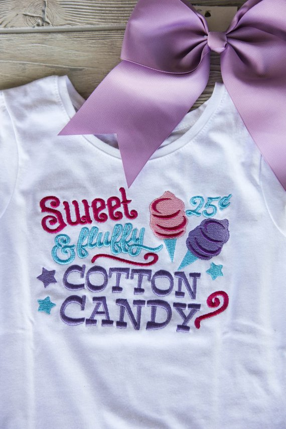 Sweet and Fluffy Cotton Candy Carnival Shirt