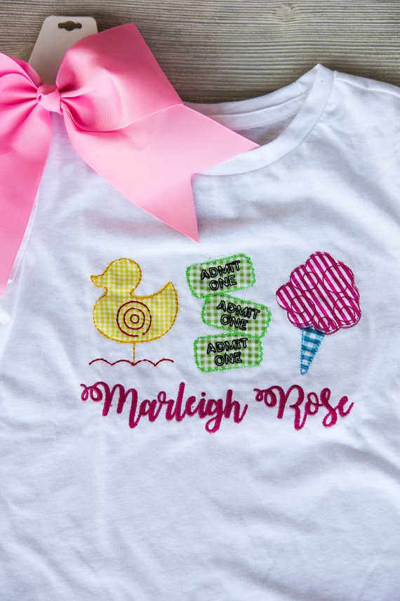 Personalized Girl's Fair Tee