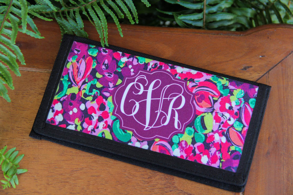 Checkbook Holder w/ Monogram