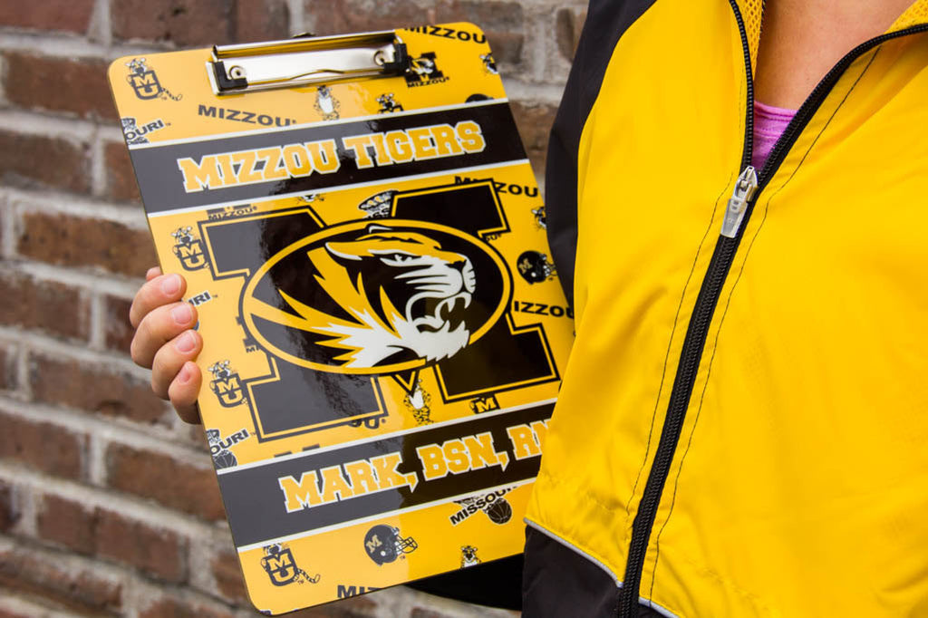 Mizzou Team Spirit Clipboard Darling Custom Designs
