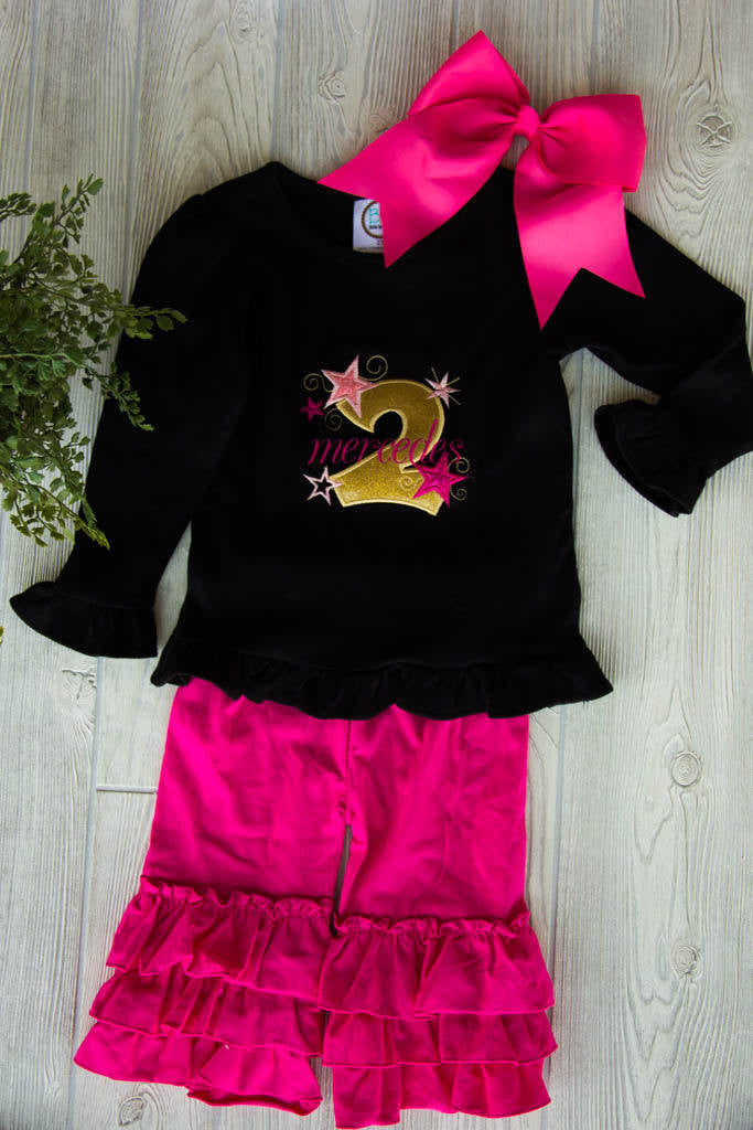 Second Birthday Outfit w/ Name