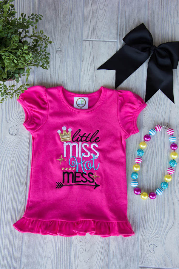 Little Miss Hot Mess Tee
