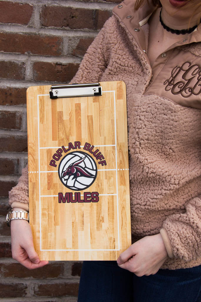 Personalized Volleyball Clipboard Darling Custom Designs