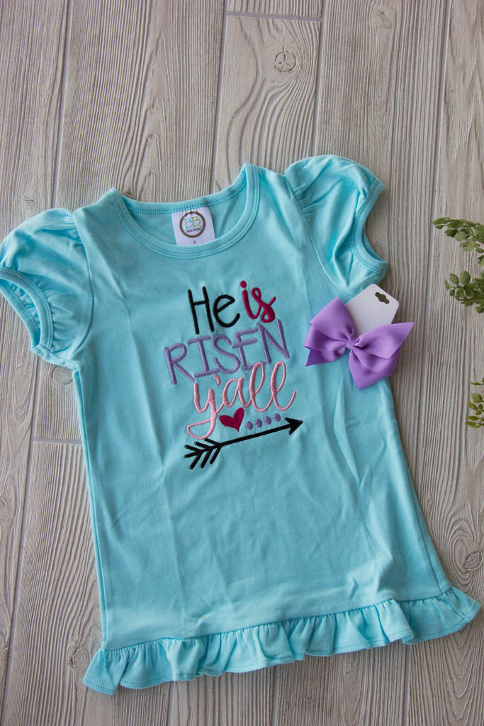 He is Risen Easter Tee