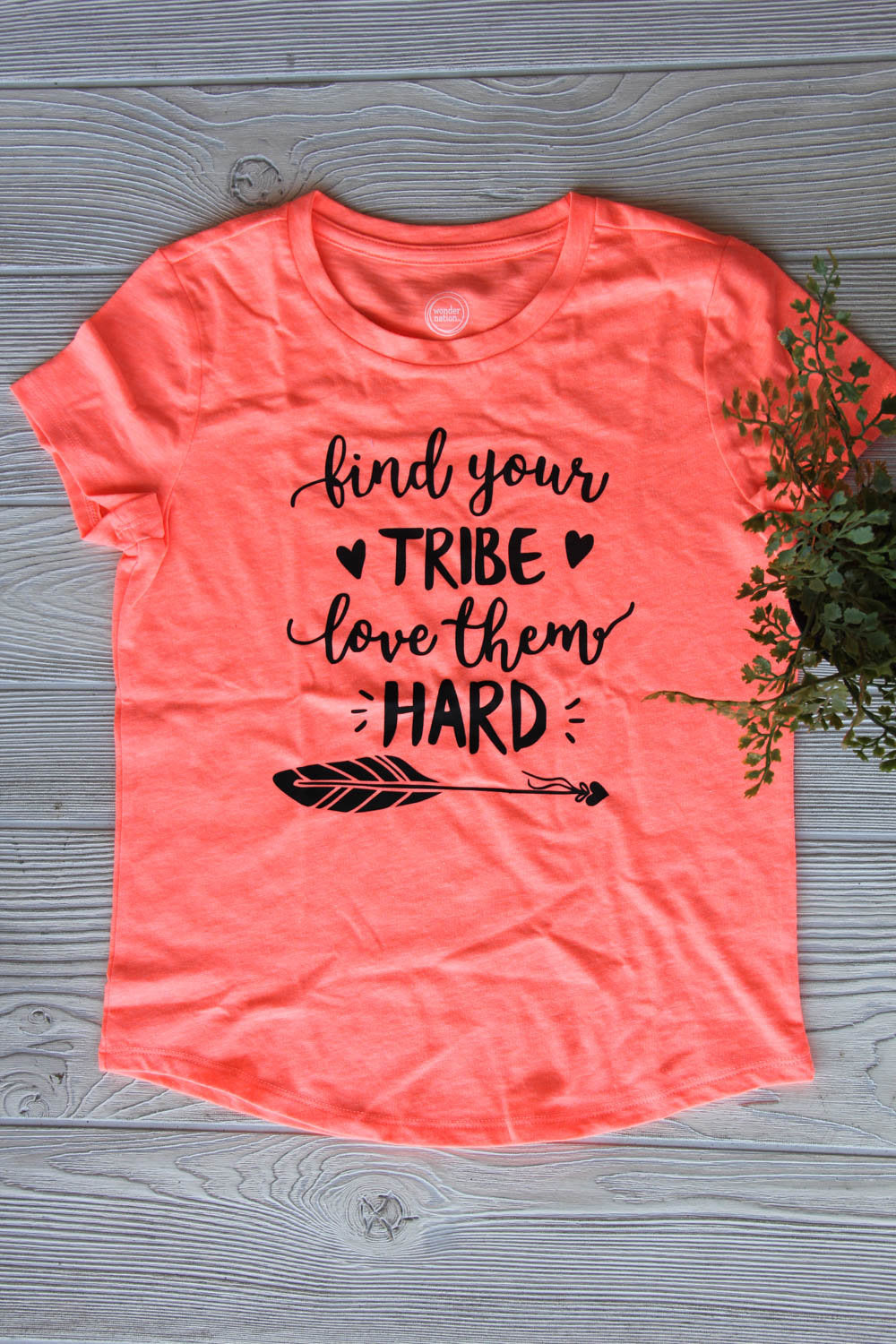 Find Your Tribe Girls Tee