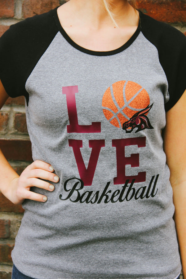 LOVE Basketball Tee