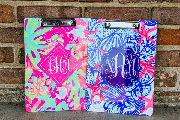 Lilly Pulitzer Inspired Clipboard (Collection 1)