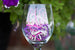 Wine Glass w/ Monogram