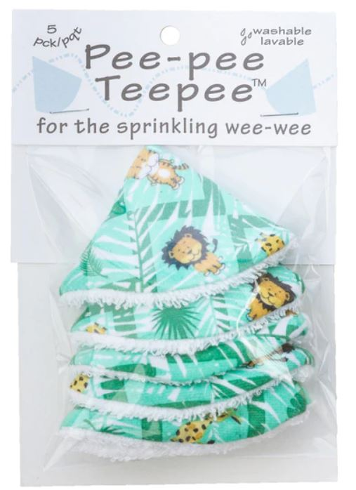 Beba Bean Pee-Pee Teepee Cellophane Bag - Jungle