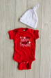 Little Man of Your Dreams Onesie Darling Custom Designs